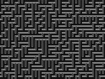 Labyrinthe abstrato do fundo Fotos de Stock Royalty Free
