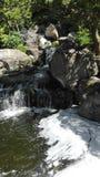 Labyrinthe, cascade photo libre de droits
