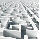 Labyrinthe d'infini Image libre de droits