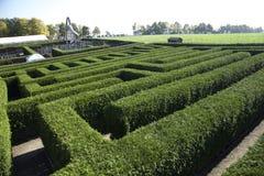 Labyrinthe dans Kleinwelka Bautzen Allemagne Photos libres de droits