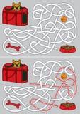 Labyrinthe de chien Photographie stock
