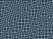 Labyrinthe de crayon illustration stock