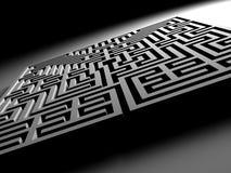 Labyrinthe de labyrinthe Photo stock