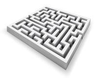 Labyrinthe de vecteur Images stock