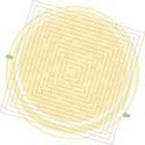 Labyrinthe de vecteur illustration libre de droits