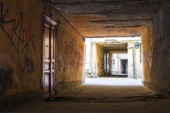 Labyrinthe des Zugangs Stockfotografie
