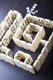 Labyrinthe et diamant Images libres de droits