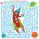 labyrinthe Rocket illustration stock