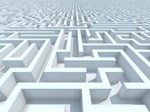 Labyrinthe sans fin Images libres de droits