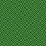 Labyrinthe sans joint Images stock