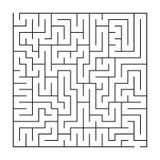 Labyrinthe/labyrinthe sur le fond blanc illustration stock