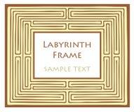 Labyrinthfeld Lizenzfreies Stockfoto