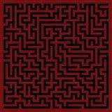 Labyrinthhintergrund Lizenzfreie Stockfotografie