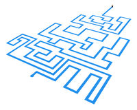 Labyrinthine Way Royalty Free Stock Image