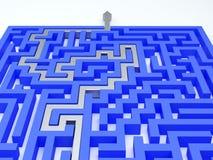 Labyrinthkonzept Stockbilder