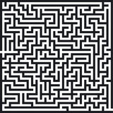 Labyrinthmuster stock abbildung