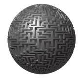 Labyrinthplanet - endloses Labyrinth Lizenzfreies Stockbild