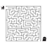 Labyrinths Life Path stock illustration