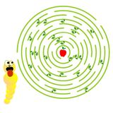 Labyrinthspiel Lizenzfreies Stockbild