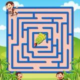 Labyrinthspiel Lizenzfreie Stockfotografie