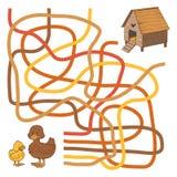 Labyrintlek Arkivbild