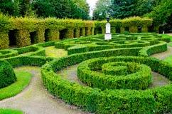 Labyrinttuin Stock Afbeelding