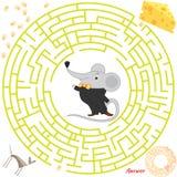 Labyrintvector Royalty-vrije Stock Afbeeldingen