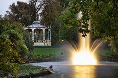 Lac à Bruges flanders belgium image libre de droits
