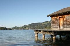 Lac à l'après-midi Image libre de droits