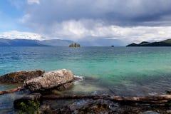 Lac à tête plate au Montana Photo libre de droits