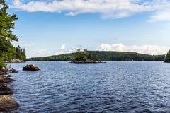 Lac ландшафт длиной естественный Стоковые Фотографии RF
