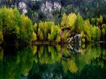 Lac 1 Image libre de droits