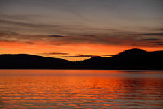 Lac 1 Francois Image libre de droits
