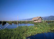 Lac #2 Inle Photo libre de droits