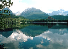Lac Photographie stock