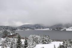 Lac Abant, Bolu - Turquie Photographie stock libre de droits
