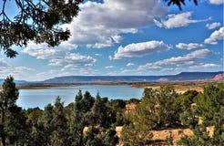 Lac Abiquiu au Nouveau Mexique photo libre de droits