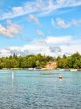 Lac agréable Photo libre de droits