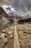Lac Alberta Morraine Images libres de droits