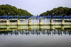 Lac Albufera, Valence, Espagne Images libres de droits
