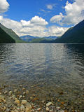 Lac Alouette, BC, le Canada Photographie stock