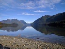 Lac Alouette, la Colombie-Britannique, Canada photos libres de droits