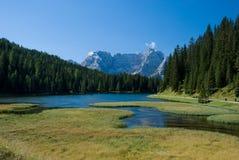 Lac alpestre Photo stock
