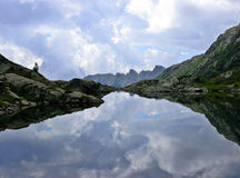 Lac Alpin Images stock