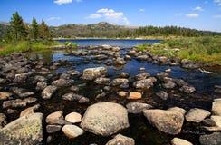 Lac alpin Photo stock