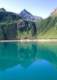 Lac alpin Photo libre de droits