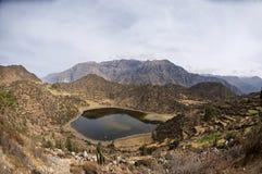 Lac Ands Images libres de droits