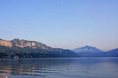 Lac Annecy Photographie stock