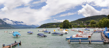 Lac annecy Photo stock