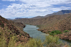 Lac apache photos libres de droits
